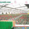 Garniture de refroidissement lavable Vert-Enduite personnalisée pour la serre chaude de fleurs