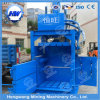 Machine à enfouir hydraulique pour tissu, coton, carton, déchets, paille usés