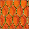 上塗を施してある鋼鉄ウサギのケージの金網
