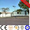 réverbère solaire de 100W DEL avec le panneau mono de module de 2PCS*150wp picovolte