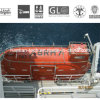 Caída libre Lifeboat y Gravity Lifeboat Frame Aproval por SOLAS (HT120)