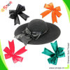 Смычок для Wine Bow Contrast Color Satin Girls Hair Bow, Satin Shoe Bows Cap Bow Decoration Bow