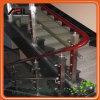 De acero inoxidable cubierta de escalera Baranda / Barandilla