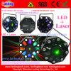 Bella luce laser di Rg di effetto di Rgbwy dello stroboscopio del laser del LED