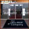 Natural ambientale Rubber Door Mat con Nylon Printed