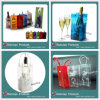 Цветастый подгонянный мешок вина PVC цвета Eco содружественный