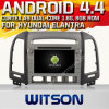 Witson Android 4.4 Car DVD para Hyundai Elantra com A9 o Internet DVR Support da ROM WiFi 3G do chipset 1080P 8g