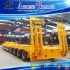 الصين جيّدة عمليّة بيع نوع 50-100 أطنان 3-6 محور العجلة منخفضة سرير [سمي] شاحنة مقطورة
