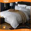 デラックスなデザイン100%年の綿かジャカードまたはサテンの縞のホテルまたはホーム寝具セット