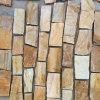 Panneaux de mur en pierre desserrés de grès de décoration de mur extérieur (SMC-FS057)