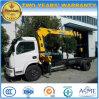 Dongfeng LHD Rhd LKW hing mit Kran-anhebendem Lastwagen-LKW ein