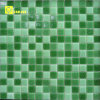 10*10mm Flexi Custom Green Glass Mosaic Tiles From Cina