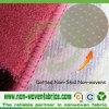 Tela não tecida Deslizar-Resistente (PP+PVC) para o tapete