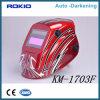 특별한 나일론 헬멧 물자 세륨 얼굴 방패 안전 자동 어두워지는 용접 헬멧