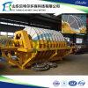 Pressa di ceramica del filtro a depressione del sistema di lavorazione del minerale dell'oro dei residui di estrazione mineraria