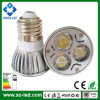 3 X 1W High Power 220 tot 260 Lumens LED Spotlight E27