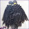 Mejor venta al por mayor rizada estupenda india de la armadura del pelo humano de la Virgen de la calidad