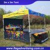 محترف يتاجر عرض ألومنيوم يطوي خيمة, [كمب تنت]