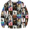 재미있은 디자인 고품질 디지털에 의하여 인쇄되는 스웨터 (ELTSTJ-7)