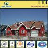 Casa de campo de aço clara Certificated ISO9001 do GV da BV da construção de aço