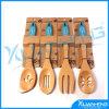 Cuisine de silicone faisant cuire le traitement au four en bois de traitement de spatule de cuillère