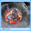 horno fusorio del crisol del grafito del cinc 50kg (JLZ-45KW)
