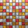 2016 Square variopinti Aluminum Alloy Mosaic per House Decoration