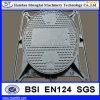 長いサイクルの盗難防止の砂型で作る鋳鉄のマンホールカバー