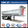 2axle Cimc Huajun New Design U-Type Dumping Semi Trailer