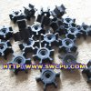 Wear Resistant Slurry Pump를 위한 고무 Impeller