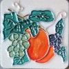 Megnet avec le carreau de céramique d'art peint à la main