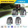 Neumático sin tubo al por mayor importado distribuidor 11r24.5 del neumático