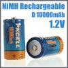 Alta batería recargable 10000mAh de la capacidad Ni-MH