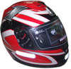 Участвующ в гонке шлем (DP3885_RED)