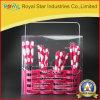 Tischbesteck-Set des Essgeschirr-24PCS mit buntem Plastikgriff (RYST0249)