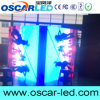 Muestra video echada a un lado doble impermeable al aire libre del LED