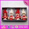 2017 Nouveaux produits Cartoon Cartoon Dolls Wooden Best Toys for Christmas W02A237