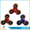 PVC EDC del juguete de la persona agitada del Tri-Hilandero por tiempo largo de la rotación