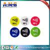 Intorno al contrassegno dell'autoadesivo della modifica di 25mm Ntag213 NFC con gli adesivi di 3m