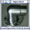 Base rotonda del supporto per l'inferriata ed il corrimano dell'acciaio inossidabile