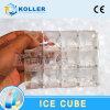 Машина кубика льда большой емкости Koller прозрачная съестная в широком пространстве