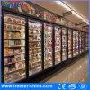 0-8 refrigerador de la lechería de las puertas del Multi-Vidrio del grado para el mercado