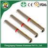 Meilleure feuille adhésive de vente employée couramment de papier d'aluminium de qualité supérieure
