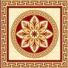 Tegel 1200X1200mm van de Vloer van het Kristal van het Tapijt van het Patroon van de bloem Tegel Opgepoetste Ceramische (BMP31)