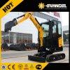 La Chine Sany excavatrice hydraulique diesel de chenille de mini excavatrice de 1.6 tonne (SY16C)
