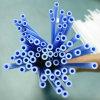 新製品青いカラー医薬品LDPEの放出のカテーテルか管