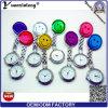 La enfermera médica de la broche de Multicolors de los relojes de la sonrisa de los relojes Pocket de la enfermera de la alta calidad Yxl-279 mira la venta al por mayor de la fábrica