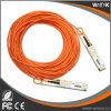 QSFP+ superior ao cabo ótico ativo 10m compatíveis de QSFP+