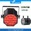 新しいデザイン19PCS 15W RGBW LEDズームレンズの同価