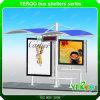 De openlucht Schuilplaats van de Bushalte van de Reclame van de Zonne-energie